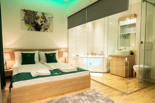 Beograd centar, luksuzni apartmani, jaccuzi kada