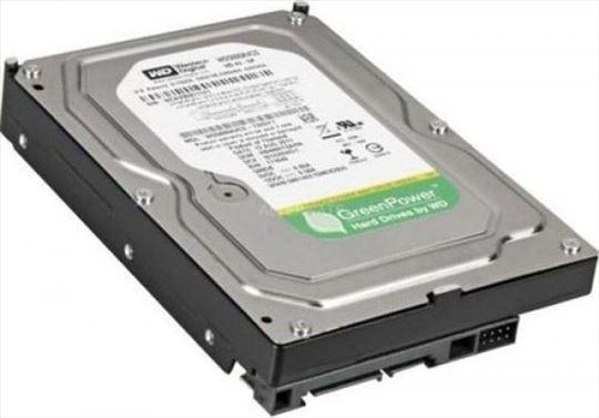"""HDD 3.5"""" 500GB WD5000AVCS WD AV-GP GREEN 7200RPM 1"""