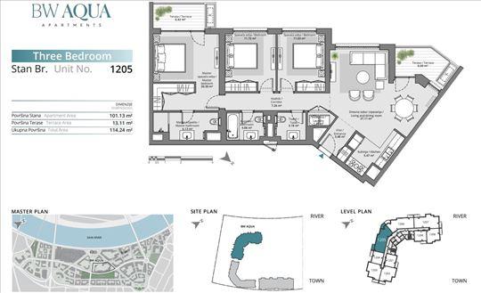 BW Aqua - dve terase ka reci