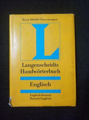 Langenscheidts - englesko-nemacki recnik