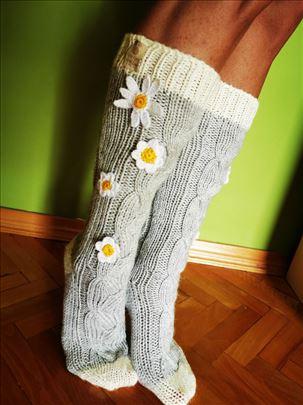 Pletene ženske čarape