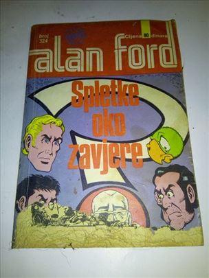 Alan Ford (Vjesnik) br. 324 - Spletke oko zavjere