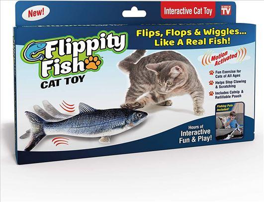 Flippity Fish interaktivna igračka za mačke ORIGIN
