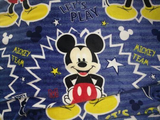 Polar ćebe 140x200 - Mickey Mouse/Miki Maus