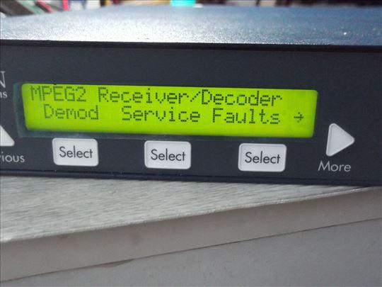 Tiernan TDR777 Professional MPEG2 IRD Integrated !