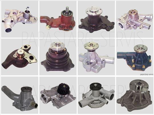 Vodene pumpe za viljuškare i građevinske mašine