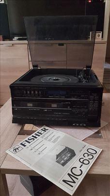 Fisher, audio komponenta