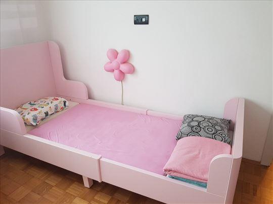 Krevet za decu  sa novim dusekom ocuvan