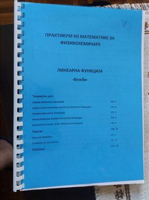 PRAKTIKUM iz matematike za fizikohemicare