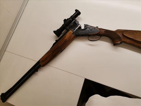 Prodajem lovačku pusku Brno Super sa dva para cevi