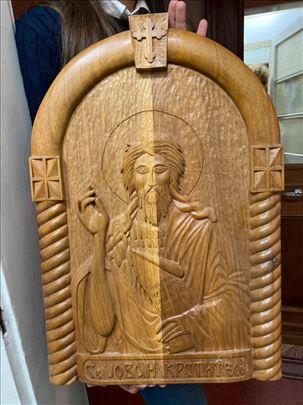 Prelep duborez Sv. Jovana Krstitelja (RUČNI RAD)