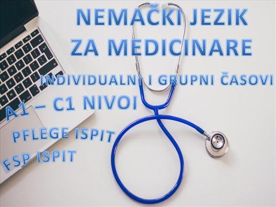 Časovi nemačkog za medicinare - svi nivoi