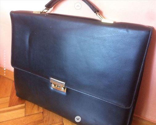 Kozna poslovna torba