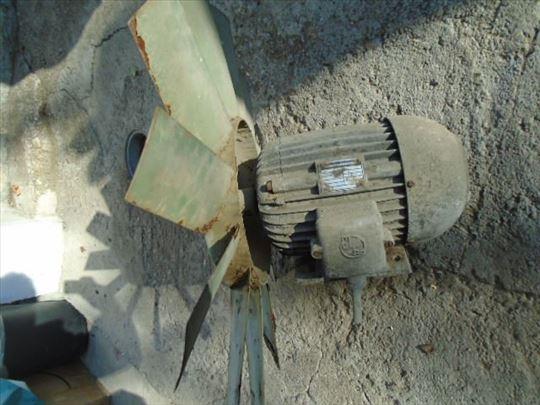 El.motor trofazni sa ventilatorom