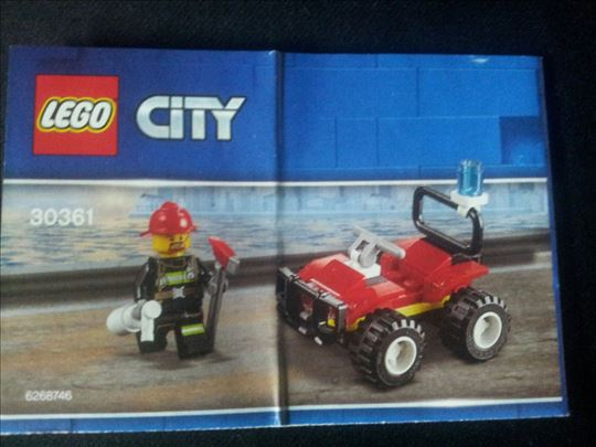 Lego City vatrogasni kvad