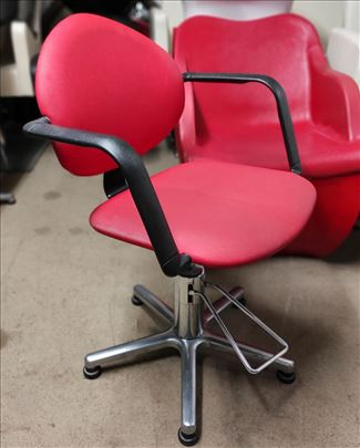 "Radna stolica ""Red"" frizerska radna stolica"