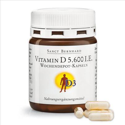 Kosti - D3 Vitamin 5600 I.E.  26 kapsula Germany