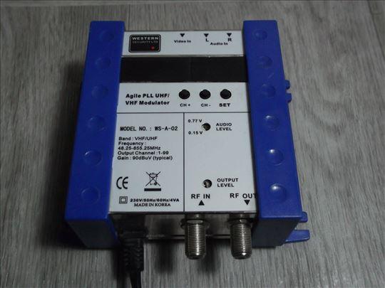VHF modulator WS-A-02!