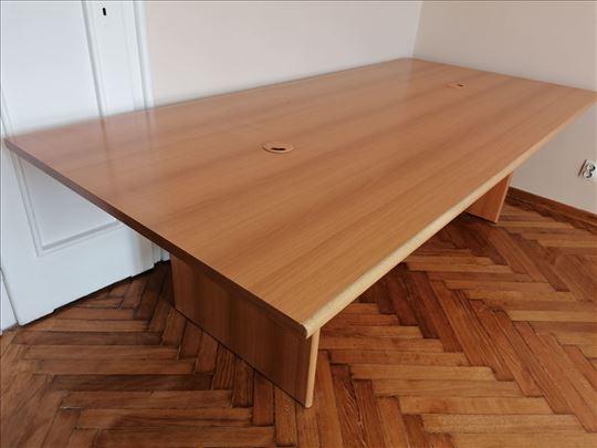 Konferencijski sto za sastanke dim 250x110cm