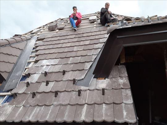 Majstor za izgradnju krovova i prokišnjavanja