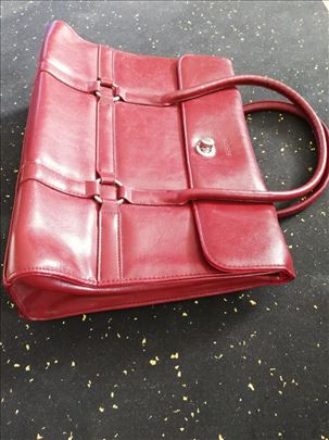 Crvena torba od eko koze