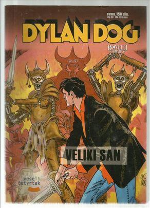 Dylan Dog VČ 8 Veliki san