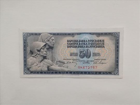 50 ex-yu dinara iz 1968