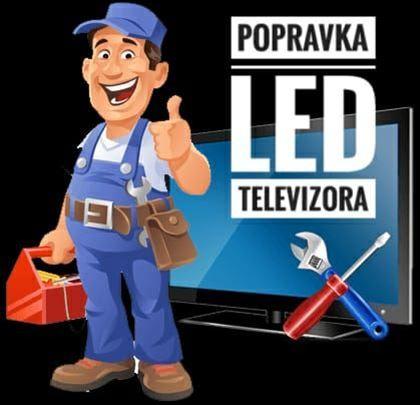 Popravka LCD, LED televizora-tetenski rad