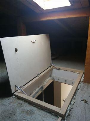 Izrada poklopca/vrata za otvor tavana