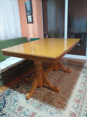 Slavski - trpezarijski sto, ručni rad