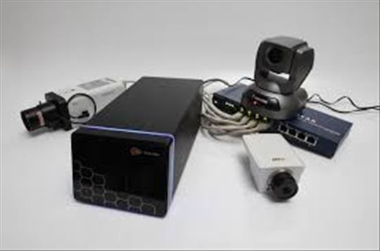 Video nadzor-materijal i montaža