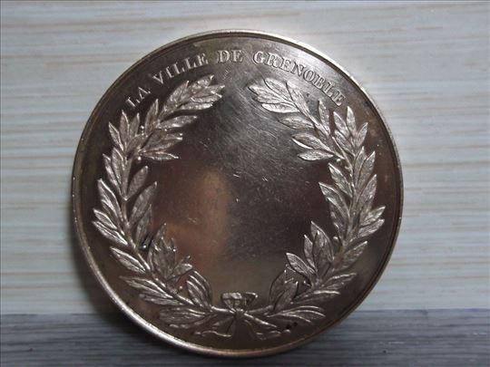 Bronza Gratianopolis E.rogat 1884 !