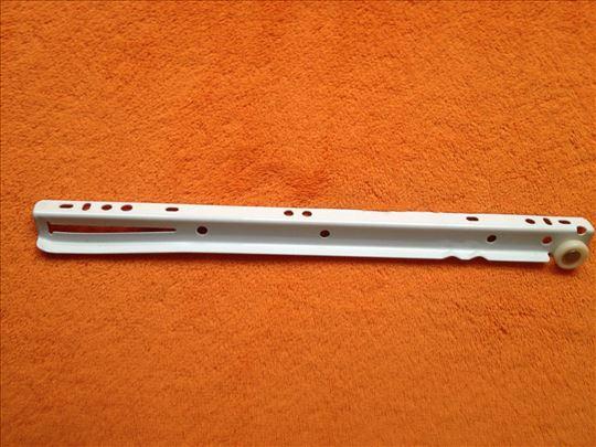 Klizači za police 30cm - Beli