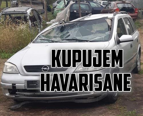 Kupujem Opel vozila havarisana