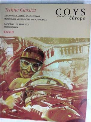 Knjiga:Znacajne aukcije o kolekcionarima, autima i