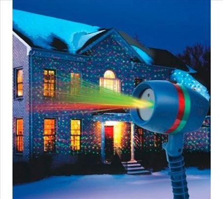 Zvezdani tuš novogodišnji Laser projektor
