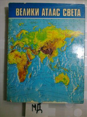 Veliki atlas sveta - Mladinska knjiga - 1977