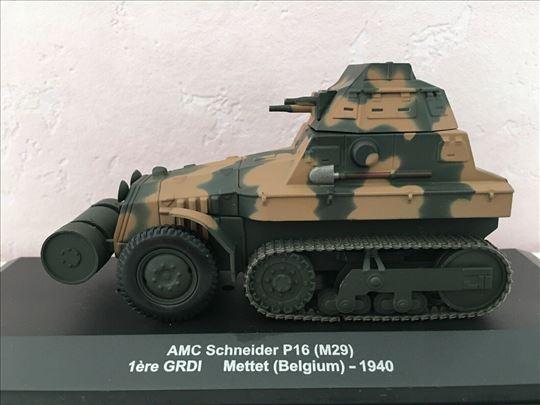 1:43 oklopni guseničar AMC Schneider P16 (M29) 19
