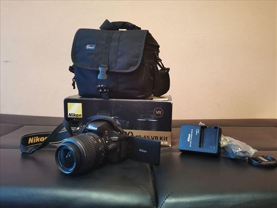 DSLR Nikon 5100D fotoaparat