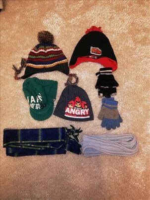 Kape,salovi,rukavice