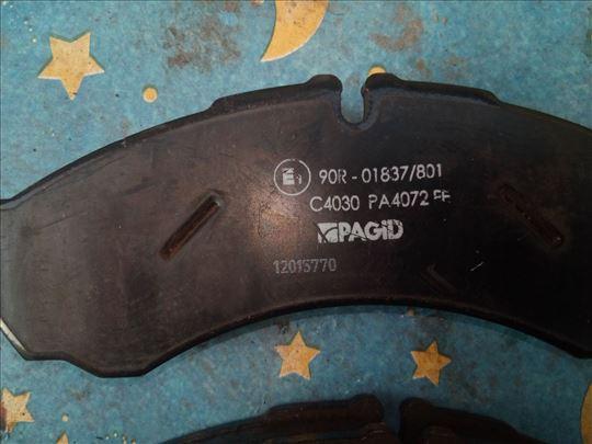 Pagid disk pločice za Iveco i Renault