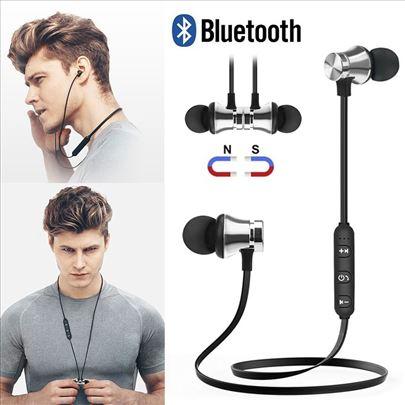 Bluetooth bežične slušalice V4.1 - PLAVE