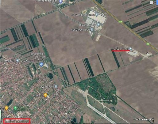Nova Pazova-Novi Banovci, 409 ari, ima info o lok