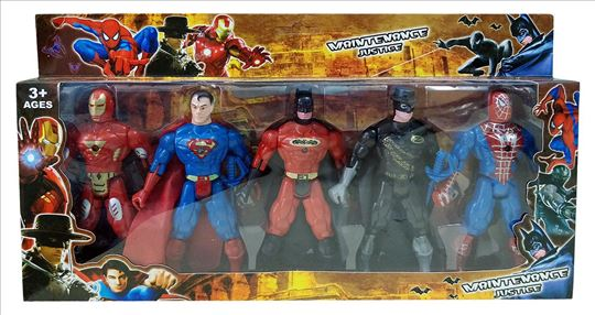 5 u 1 Set Avengers Superheroja OsvetnikA
