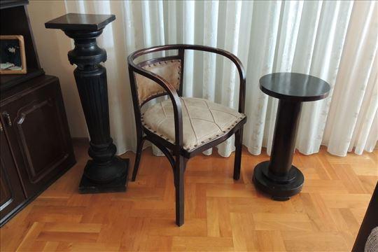 Fotelja-Otto Wagner-Austrougarska-1902godina