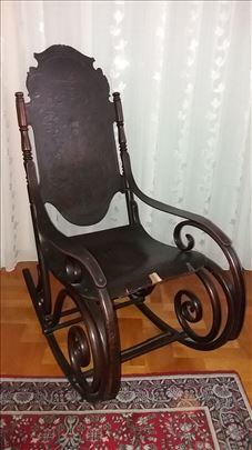 Fotelja za Ljuljanje J&J Kohn 1900 godina