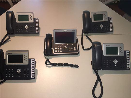 Mrezni server i yealink telefoni SIP T38G