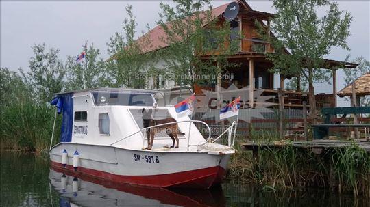 Salaš uz Veliki bački kanal(Gornje Podunavlje)