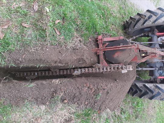 Masina za kopanje kanala