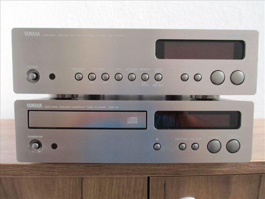 Yamaha cd player cdx 9, tuner tx-10 vrhunske midi